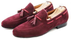 Tassel Loafer Mock Toe