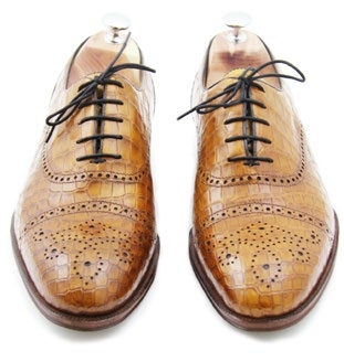Oxford Whole Cut Perfo Full Brogue